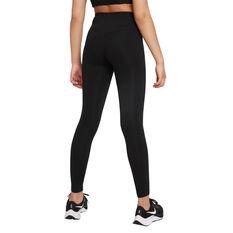 Nike Girls Dri-FIT One Luxe Tights Black XS XS, Black, rebel_hi-res
