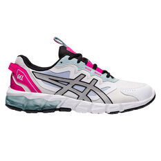 Asics GEL Quantum 90 Womens Casual Shoes White/Pink US 6, White/Pink, rebel_hi-res