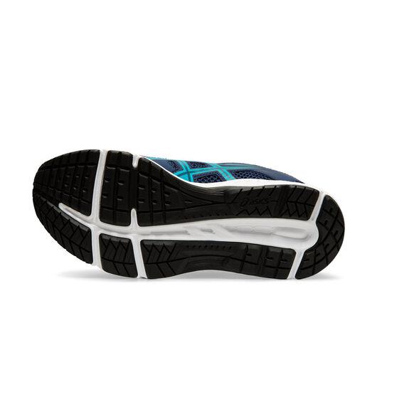 Asics Contend 5 Kids Running Shoes, Navy / White, rebel_hi-res