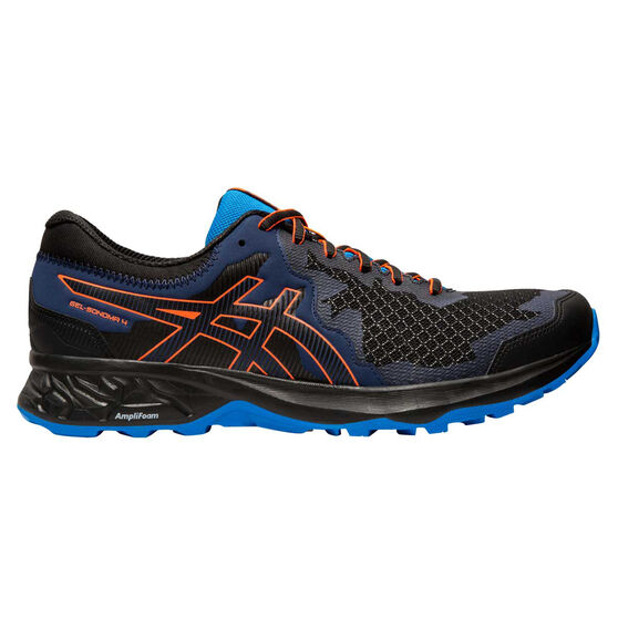 Asics GEL Sonoma 4 Mens Trail Running Shoes, Black / Coral, rebel_hi-res