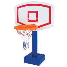 Swim Sportz Poolside Basketball Blue / White, , rebel_hi-res