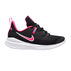 Nike Renew Rival 2 Kids Running Shoes Black / Pink US 4, Black / Pink, rebel_hi-res