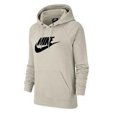 Nike Womens Sportswear Essential Fleece Pullover Hoodie Bone XS, , rebel_hi-res