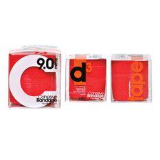 D3 Madi Flex Cohesive Bandage Red, Red, rebel_hi-res