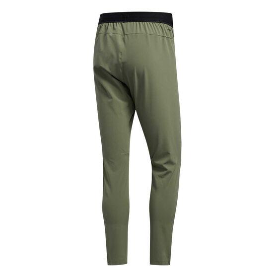 adidas Mens CITY Base Woven Track Pants, Green, rebel_hi-res
