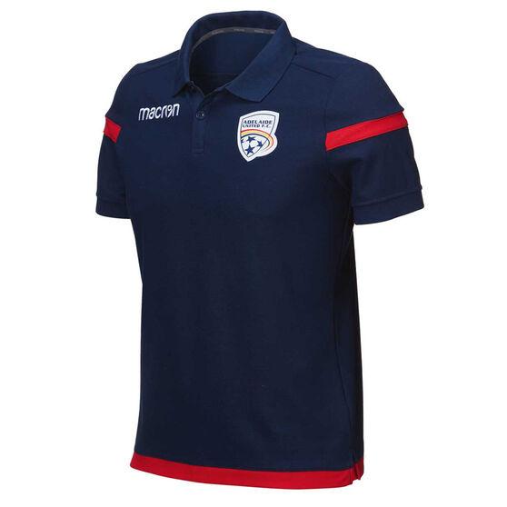 Adelaide United 2018 / 19 Mens Club Polo, , rebel_hi-res
