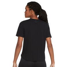 Nike Womens Run Division Tee, Black, rebel_hi-res