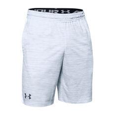 Under Armour Mens MK-1 Twist Shorts Grey XS, Grey, rebel_hi-res