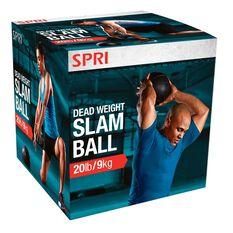 SPRI Cross Train Slam Ball 9kg, , rebel_hi-res