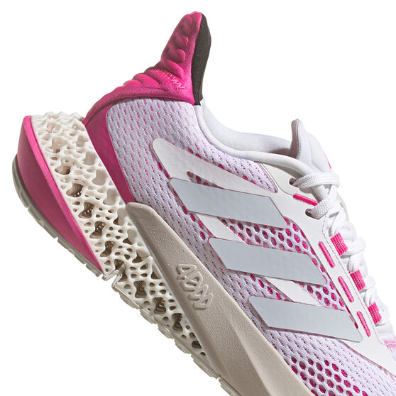 adidas 4DFWD Pulse Womens Running Shoes, White, rebel_hi-res