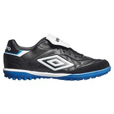 Umbro Speciali Eternal Team TF Football Boots Black / White US 7 Adult, Black / White, rebel_hi-res