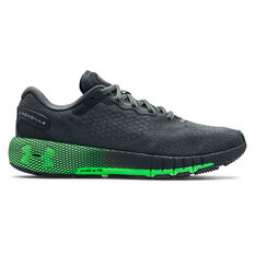 Under Armour HOVR Machina 2 Mens Running Shoes Grey/Green US 7, Grey/Green, rebel_hi-res