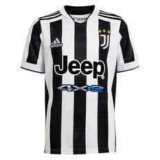 Juventus FC 2021/22 Kids Home Jersey Black/White 8, Black/White, rebel_hi-res