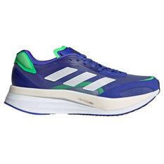 adidas Adizero Boston 10 Mens Running Shoes Blue/White US 7, Blue/White, rebel_hi-res
