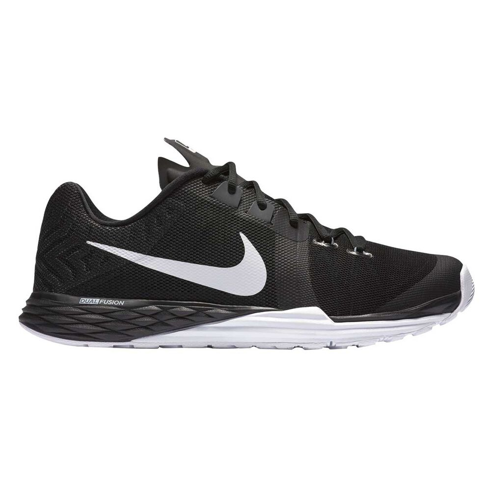 pretty nice 2ec98 6a397 Nike Prime Iron DF Mens Training Shoes Black   White US 8.5, Black   White