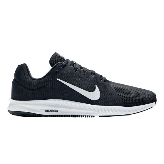 separation shoes 6fe1b d84d2 Nike Downshifter 8 Mens Running Shoes, Black   White, rebel hi-res