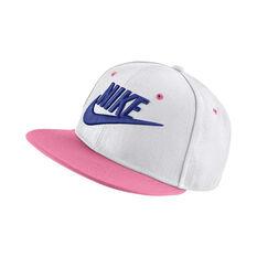 Nike Girls Futura True Cap White / Purple OSFA, , rebel_hi-res