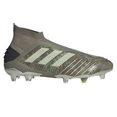 adidas Predator 19+ Football Boots Green / Yellow, Green / Yellow, rebel_hi-res