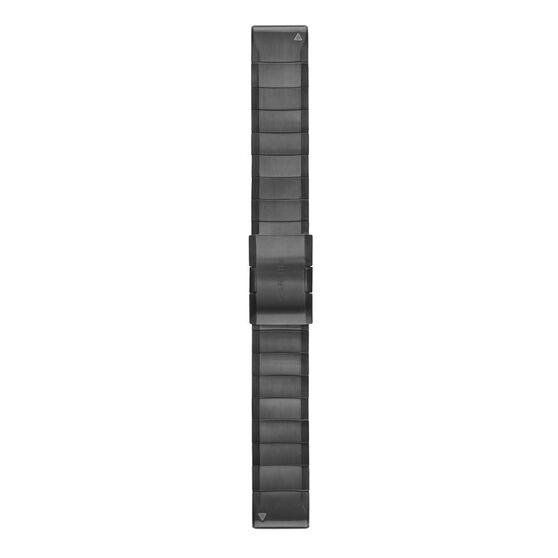 Garmin QuickFit 22mm Carbon Gray Titanium Watch Band, , rebel_hi-res