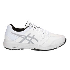 Asics Gel Quest Kids Training Shoes White US 1, White, rebel_hi-res