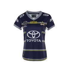 North Queensland Cowboys 2021 Womens Home Jersey, Navy, rebel_hi-res