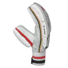 New Balance TC Alpha Junior Cricket Batting Gloves, Red/Black, rebel_hi-res