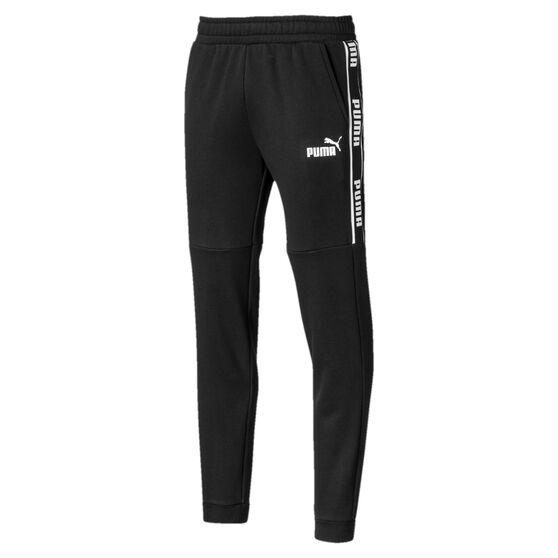 Puma Mens Amplified Sweatpants, Black, rebel_hi-res