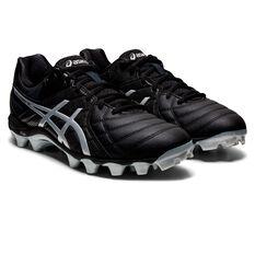 Asics Gel Lethal 18 Football Boots, Black/Silver, rebel_hi-res