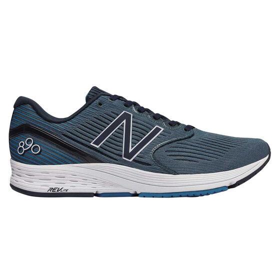 New Balance 890v6 Mens Running Shoes, Blue, rebel_hi-res