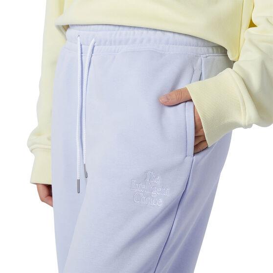 New Balance Womens Athletics Intelligent Choice Sweatpants, Purple, rebel_hi-res