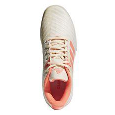 adidas Barricade Court Womens Tennis Shoes Cream / Peach US 6, Cream / Peach, rebel_hi-res