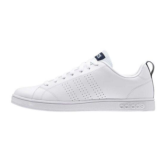 adidas Advantage Clean VS Mens Casual Shoes White / White US 13, White / White, rebel_hi-res