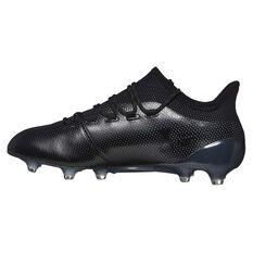 size 40 1f0e4 2613c ... adidas X 17.1 Mens Football Boots Black   Blue US 7 Adult, Black   Blue