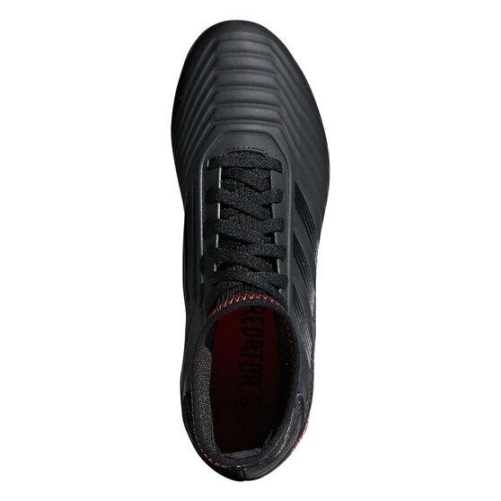 adidas Predator 19.3 Kids Football Boots, Black / Red, rebel_hi-res