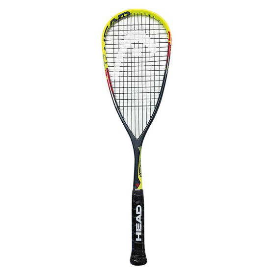 Head Nano TI Heat Squash Racquet Green / Red, , rebel_hi-res