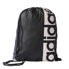 adidas Linear Performance Gym Sack Black / White, , rebel_hi-res