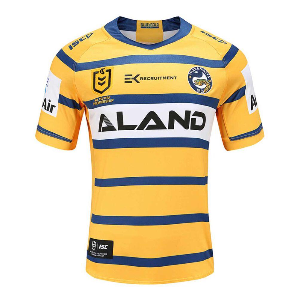 Parramatta Eels 2020 Mens Away Jersey Yellow Blue S Rebel Sport