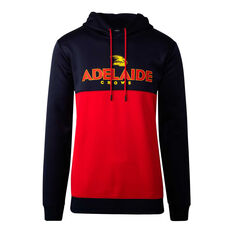 Adelaide Crows 2020 Mens Ultra Hoodie Navy/Red S, Navy/Red, rebel_hi-res