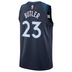 Nike Minnesota Timberwolves Jimmy Butler 2018 Mens Swingman Jersey College Navy S, College Navy, rebel_hi-res