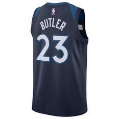 Nike Minnesota Timberwolves Jimmy Butler 2019 Mens Swingman Jersey College Navy S, College Navy, rebel_hi-res