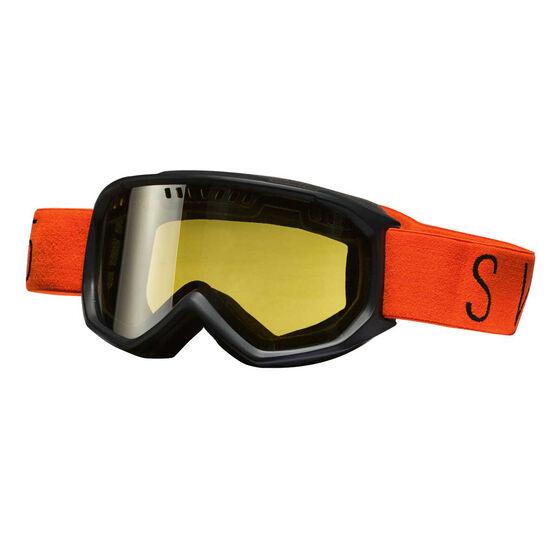 ac5adf67d553 SVNT5 Mens Dogleg Ski Goggles Black   Orange