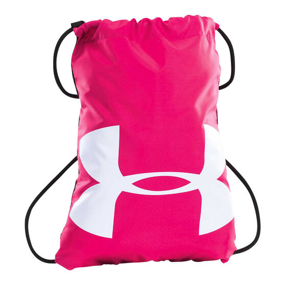 Under Armour Ozsee Sackpack Pink / White, , rebel_hi-res