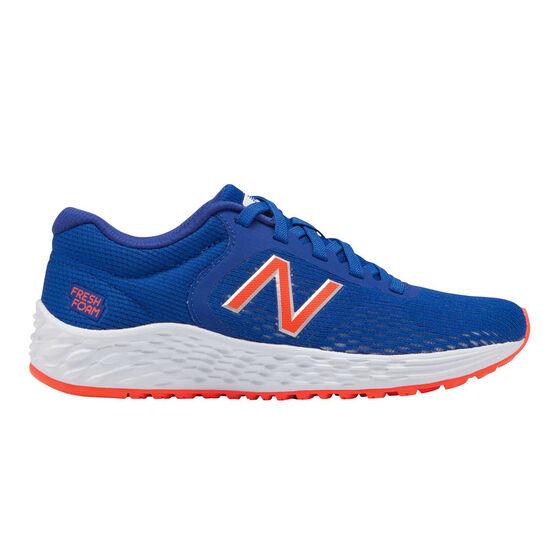 New Balance Fresh Foam Arishi Kids Training Shoes, Blue, rebel_hi-res