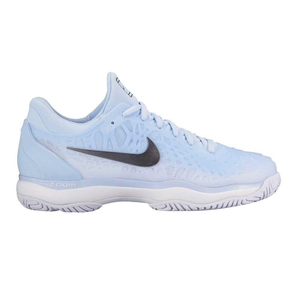 0fa6963b4905a2 Nike Zoom Cage 3 Womens Tennis Shoes Blue   Grey US 7.5