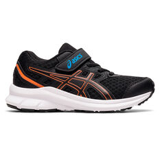 Asics Jolt 3 Kids Running Shoes Black/Blue US 11, Black/Blue, rebel_hi-res