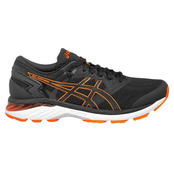 Asics GEL Superion 3 Mens Running Shoes, Black/Orange, rebel_hi-res