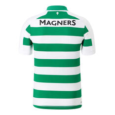 Celtic FC 2019/20 Mens Home Jersey, White / Green, rebel_hi-res