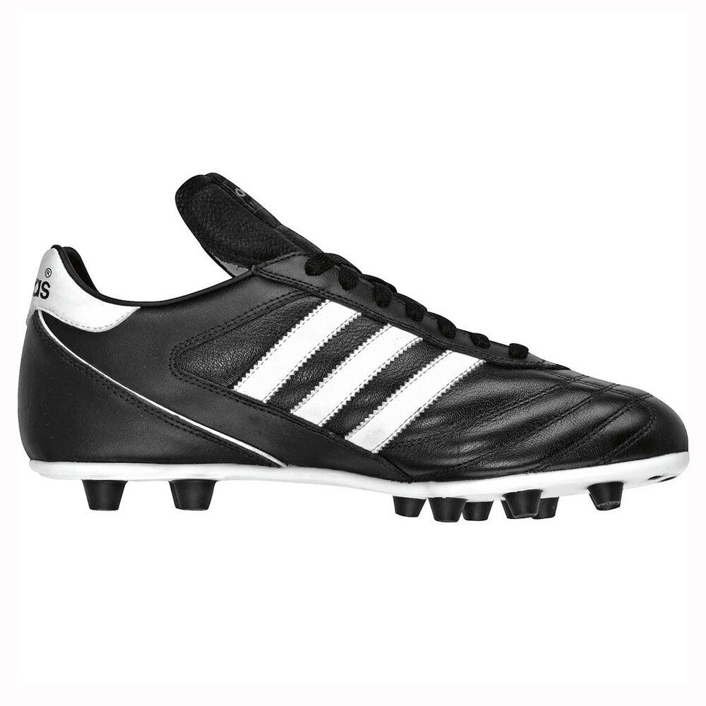 adidas Kaiser 5 Liga Mens FG Football Boots Black   White US 8 Adult ... 7a9897686e