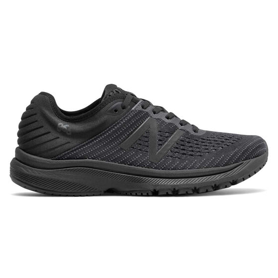 New Balance 860v10 D Womens Running Shoes, Black, rebel_hi-res