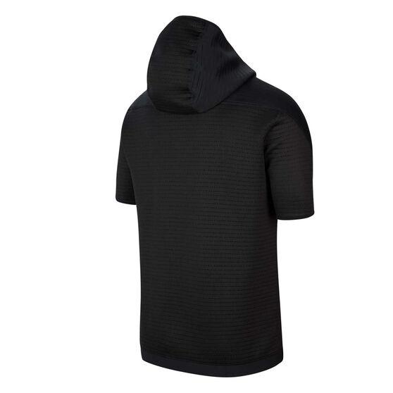 Nike Pro Mens 1/4 Zip Hoodie, Black, rebel_hi-res